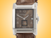 Baume & Mercier Hampton Brown Dial Automatic Stainless Steel Men's Watch MOA10028