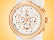 Philip Stein Active Gold-tone Stainless Steel Quartz Chronograph Watch 32-ARGW-RW