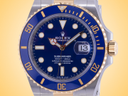 Rolex Oyster Perpetual Submariner Date Automatic 18K Yellow Gold / Stainless Steel Men's Watch 126613LB