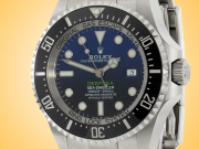 Rolex Oyster Perpetual Deepsea Sea-dweller Automatic Oystersteel Men's Watch 126660 D-Blue