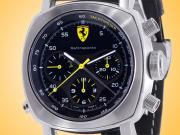 Officine Panerai Scuderia Ferrari Rattrapante Automatic Chronograph Stainless Steel Men's Watch FER00010
