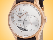 Mido Belluna II Men's Automatic Electroplated Rose Gold Stainless Steel Watch M0244443603100