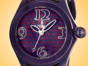 Corum Bubble Purple & Red Automatic PVD-treated Stainless Steel Watch 082.413.98/0210 VA02