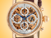 Chronoswiss Grand Opus Automatic Chronograph 18K Rose Gold Men's Watch CH 7541 SR
