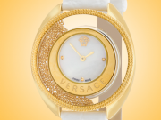 Versace Destiny Spirit Yellow Gold-tone Stainless Steel Ladies Watch Model:VAR110017