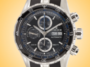 EDOX Grand Ocean Automatic Chronograph Stainless Steel Men's Watch Model: 01123 3BUCA NBUN