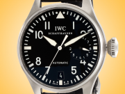 IWC Big Pilot 7-Day Power Reserve Black Dial Men's Automatic Stainless Steel Watch 5009-01