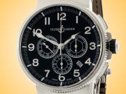 Ulysse Nardin Marine Chronograph Manufacture Stainless Steel Men's Watch 1503-150-62