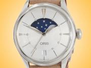 Oris Artelier Grand Lune Automatic Stainless Steel Ladies Watch 01 763 7723 4051-07 5 18 33FC