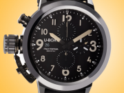 U-BOAT Flightdeck Automatic Chronograph Ceramic Men's Watch Model 7388