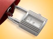 Hermès Kelly-Cadenas Ladies Stainless Steel Locker-style Watch and Clochette KE1.210-280/GRM