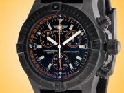 Breitling Avenger Seawolf Blacksteel Chronograph Quartz Limited Edition Men's Watch M73390T2-BA88-134S