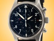 IWC Pilot Automatic Chronograph Stainless Steel Men's Watch IW3777-01