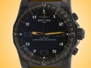Breitling Cockpit B50 Night Mission Black Titanium Multifunctional Men's Watch VB5010A4/BD41-242S