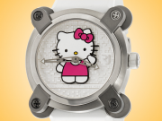 Romain Jerome Moon Invader Hello Kitty Automatic Stainless Steel Ladies Watch RJ.M.AU.IN.023.01