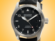 Bremont Solo 37 Black Dial Automatic Stainless Steel Men's Watch SOLO-37/BK-SI/R