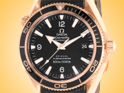 Omega Seamaster Planet Ocean 600 M Co-Axial Automatic 18K Rose Gold Men's Watch 222.63.42.20.01.001