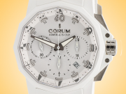 Corum Admiral's Cup Challenger 44 White Dial Automatic Chronograph Watch 753.802.02/F379 AA31