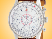 Breitling Montbrillant 01 Automatic Chronograph Stainless Steel Men's Watch AB013012/G709-724P
