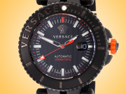 Versace V-Race Driver Black PVD Stainless Steel Men's Watch Model: VAL010016