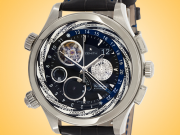 ZENITH Grande Class Traveller Open Multicity Automatic Stainless Steel Men's Watch 03-0520-4046-22-C681