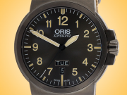 Oris BC3 Advanced Day / Date Automatic PVD-coated Stainless Steel Men's Watch 01 735 7641 4263-07 5 22 22G
