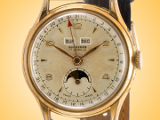Bucherer Vintage Triple Date Moon Phase Gold-filled Hand-wound Watch