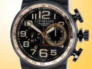 GRAHAM Silverstone Stowe Automatic Chronograph PVD-treated Stainless Steel Men's Watch 2BLDZ.B12B.K47N