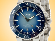 Oris Aquis Date Lake Baikal Special Edition Men's Automatic Stainless Steel Watch 01 733 7730 4175