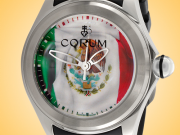 Corum Bubble Mexico Flag Automatic Stainless Steel Men's Watch 082.310.20/0371 MX01