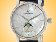 Chronoswiss Sirius Moonphase Automatic Diamonds Stainless Steel Ladies Watch CH-8523D-MP