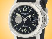 Officine Panerai Luminor GMT Automatic Stainless Steel Men's Watch PAM00088