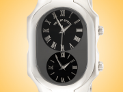 Philip Stein Teslar Signature Series Stainless Steel Quartz Watch 2-G-CB-SS
