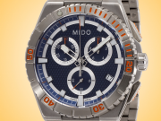 Mido Ocean Star Captain Chronograph Stainless Steel Quartz Men's Watch M0234171104100
