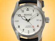 Bremont Solo 37 Automatic Stainless Steel Men's Watch SOLO-37/SI/R