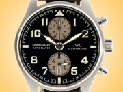 IWC Pilot Antoine de Saint Exupéry Edition Automatic Chronograph Stainless Steel Men's Watch IW3878-06