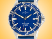 Perrelet Diver Seacraft 3 Hands Sport Automatic Stainless Steel Men's Watch A1053/3