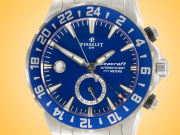 Perrelet Diver Seacraft GMT Automatic Stainless Steel Men's Watch A1055/C