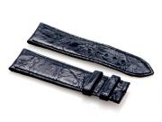 Cartier Black-Colored Shiny Genuine Crocodile Short Strap 85 x 75 mm