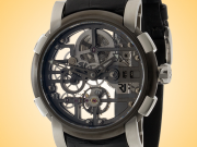 Romain Jerome 1969 Skylab 44 MOON-DNA Manually Wound Grey PVD-coated Stainless Steel Men's Watch RJ.M.AU.026.01