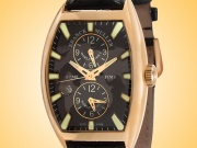 Franck Muller Cintrée Curvex Master Banker Automatic 18K Rose Gold Men's Watch 8880 MB SC DT IND MAP
