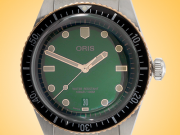 Oris Divers Sixty-Five 40 mm Green Dial Automatic Stainless Steel Men's Watch 01 733 7707 4357-07 8 20 18