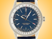 Breitling Navitimer 1 Automatic 38 mm Blue Dial Stainless Steel Midsize Watch A17325211C1P1
