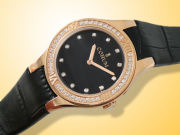 Corum Romulus 18K Rose Gold / Diamonds Ladies Watch