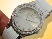 Corum Romulus 18K White Gold / Diamonds Ladies Watch