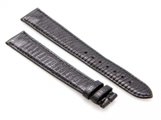 Cartier Black-Colored Shiny Genuine Lizard skin Strap 130 x 100 mm