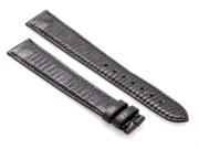 Cartier Black-Colored Shiny Genuine Lizard skin Strap 130 x 100 mm