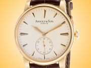 Arnold & Son Royal Collection HMS1 18K Rose Gold Men's Hand-wound Watch 1LCAP.W01A.C110A