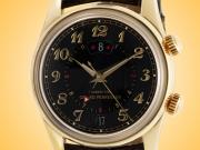 Girard Perregaux Traveler II Alarm 18K Yellow Gold Automatic Men's Watch 49400