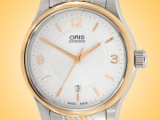 Oris Classic Date Automatic Gold - plated and Stainless Steel Men's Watch 01 733 7594 4331-07 8 20 63